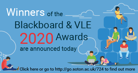 Winners of the Blackboard & VLE Awards are announced today