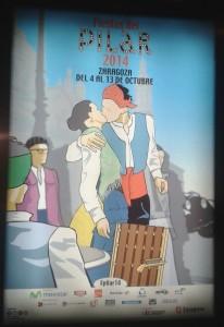 Poster for the Fiestas del Pilar