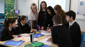 Students from Thornden School take part in YHC at LifeLab