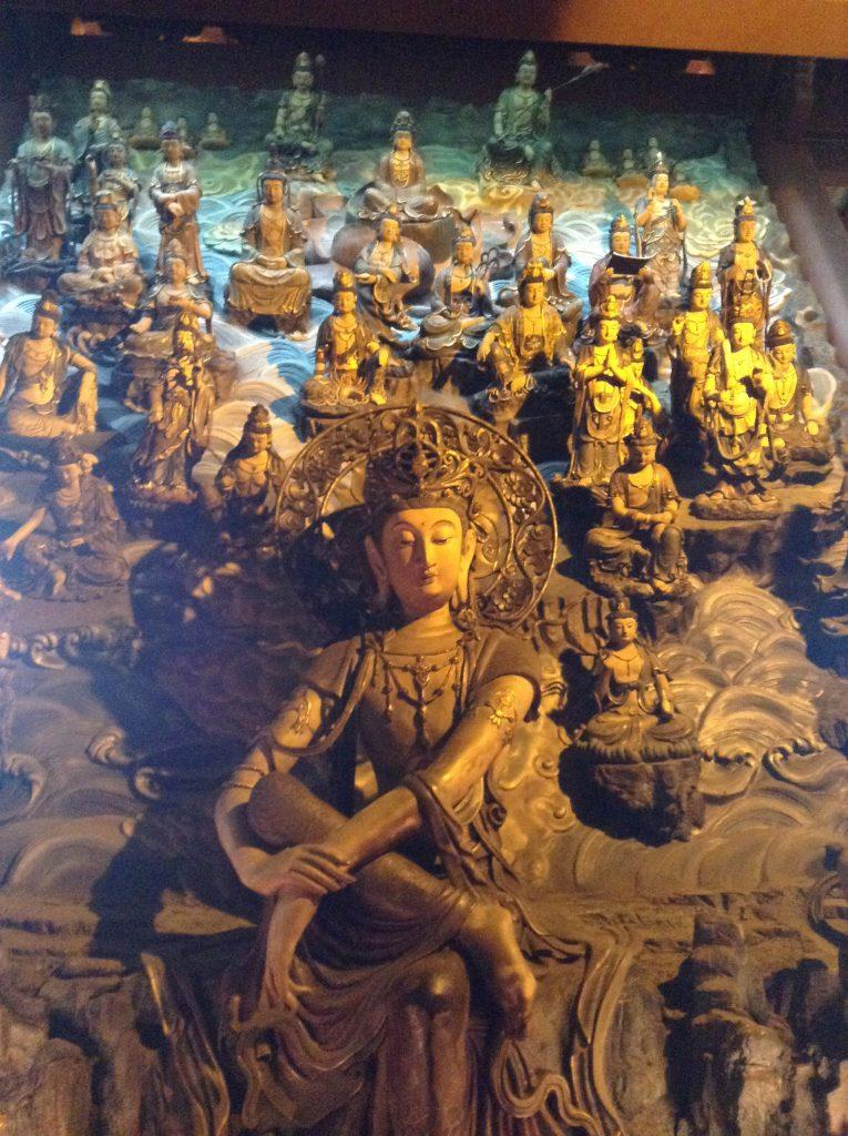 Shrines in Yongu temple - back side