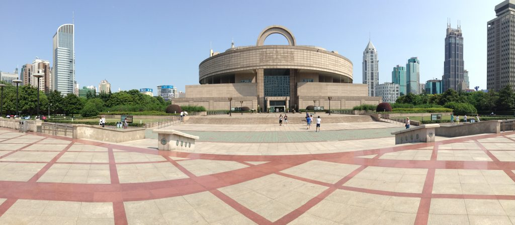 The Shanghai Museum, on People's Square
