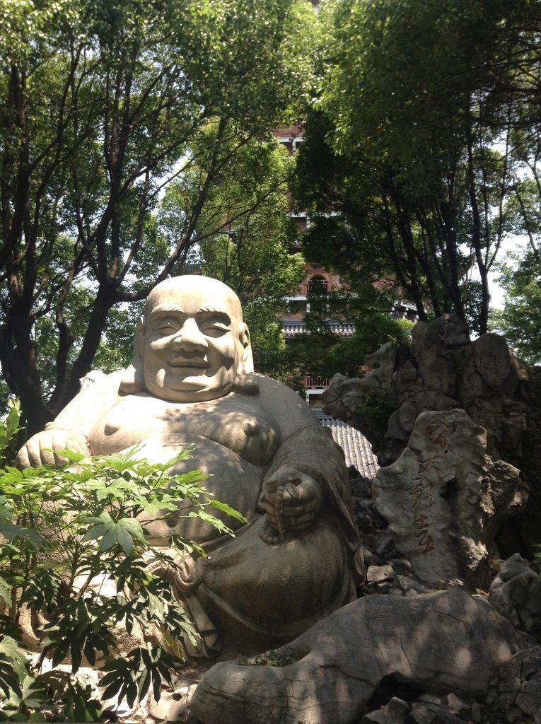 Buddha in the Pagoda, North Temple Pagoda, Suzhou
