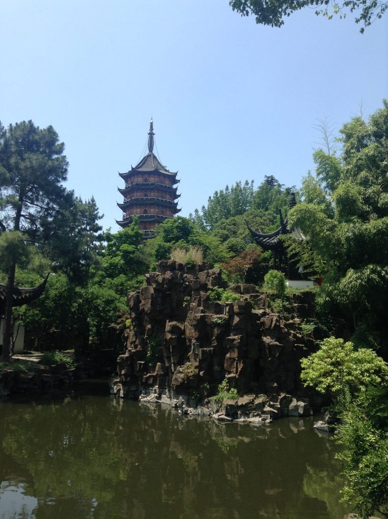 North Pagoda Temple and gardens, Suzhou