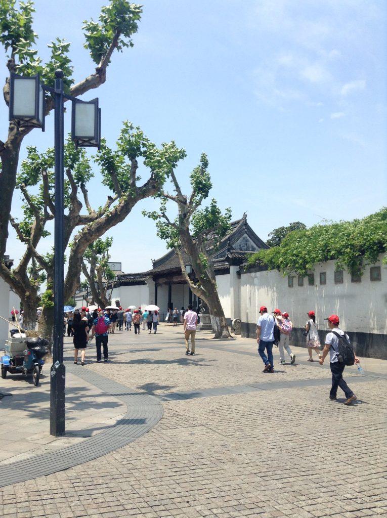 Suzhou Xi Dong Xie pedestrian street