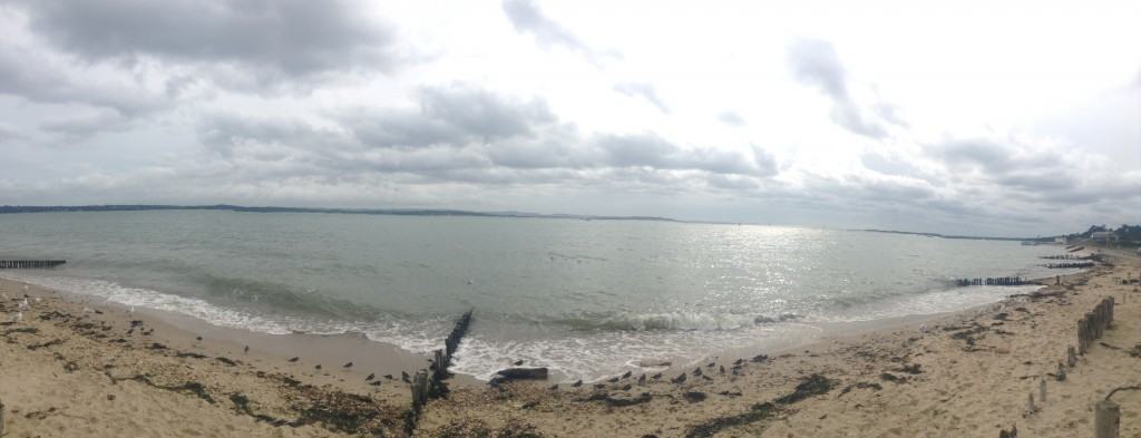 The Isle of Wight from Lepe