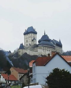 Karlstejn as it was during our visit, photo credit to Haig Utidjian!